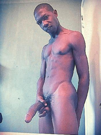 Monster Cock Rentboy Sexy_body09 Black Boy for Hire Ad Sexy slim